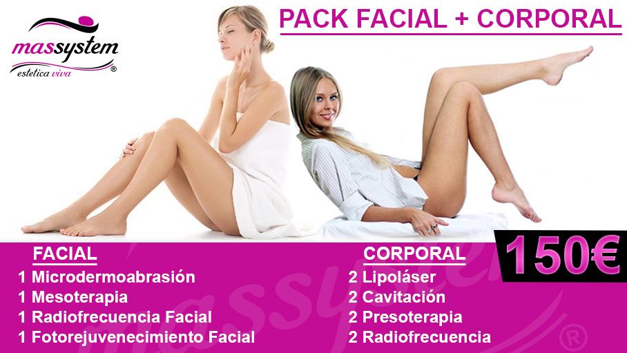 Pack Facial y Corporal
