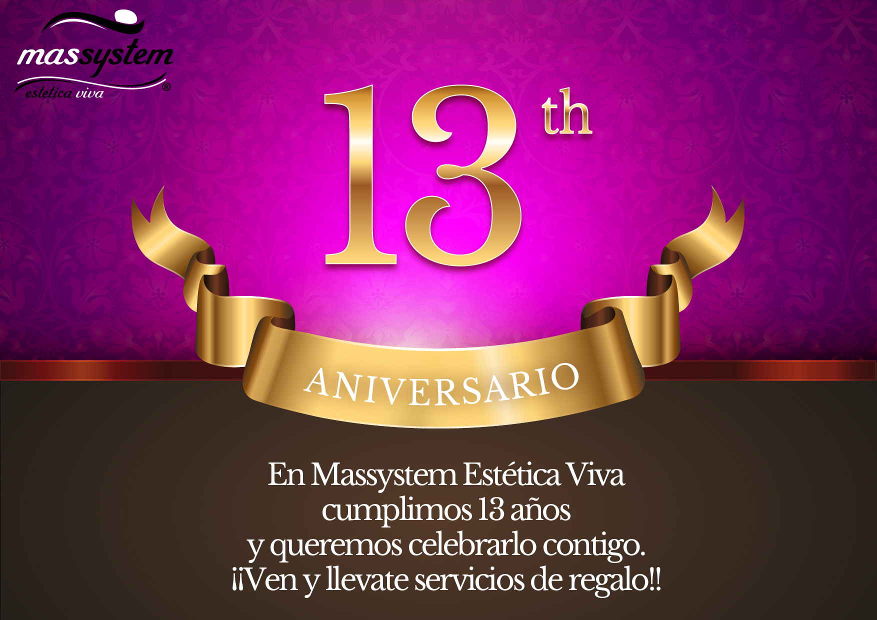 13 aniversario
